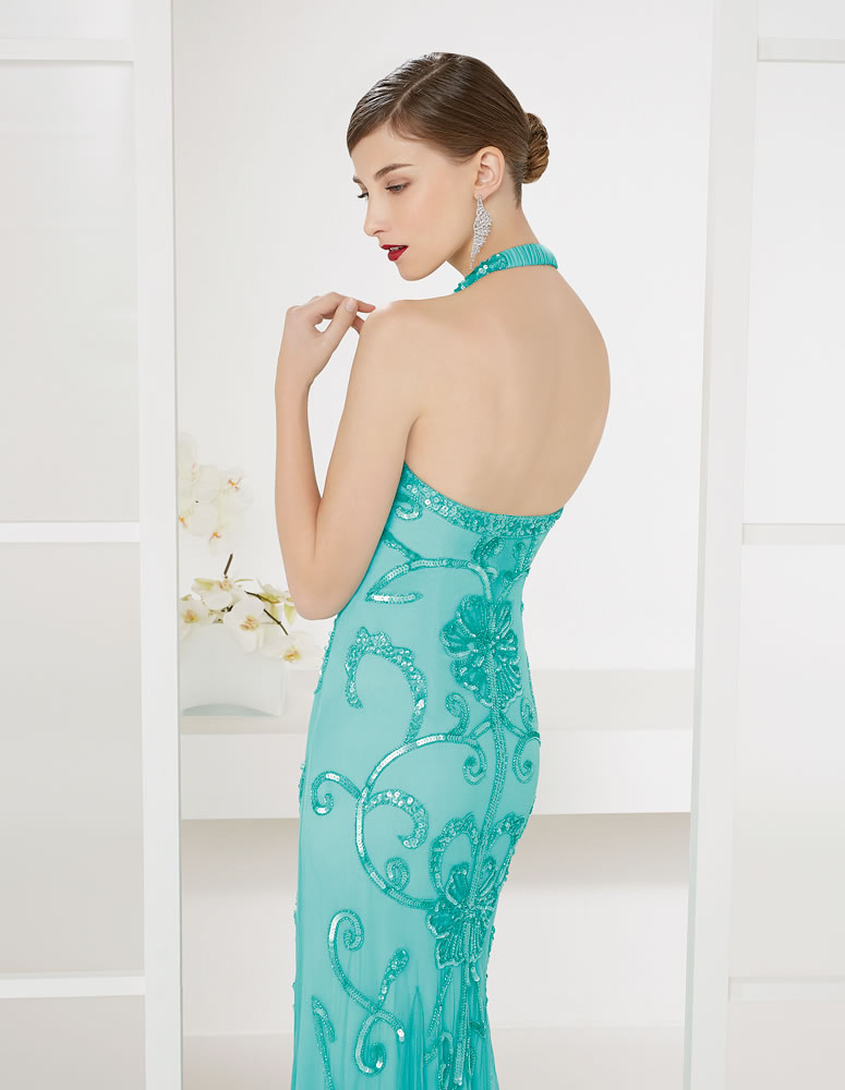 9G215 Vestido de Fiesta Couture Club