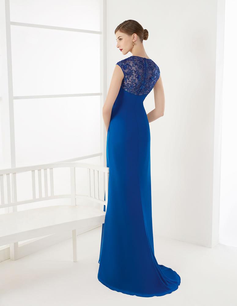 9G255 Vestido de Fiesta Couture Club