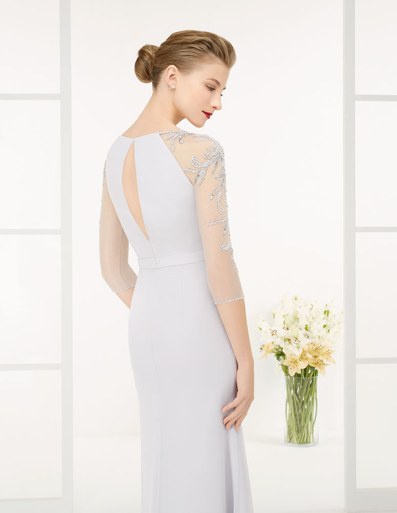 9G259 Vestido de Fiesta Couture Club