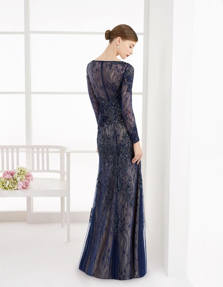 9G280 Vestido de Fiesta Couture Club