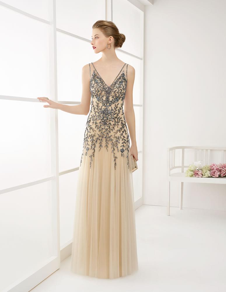 9G281 Vestido de Fiesta Couture Club