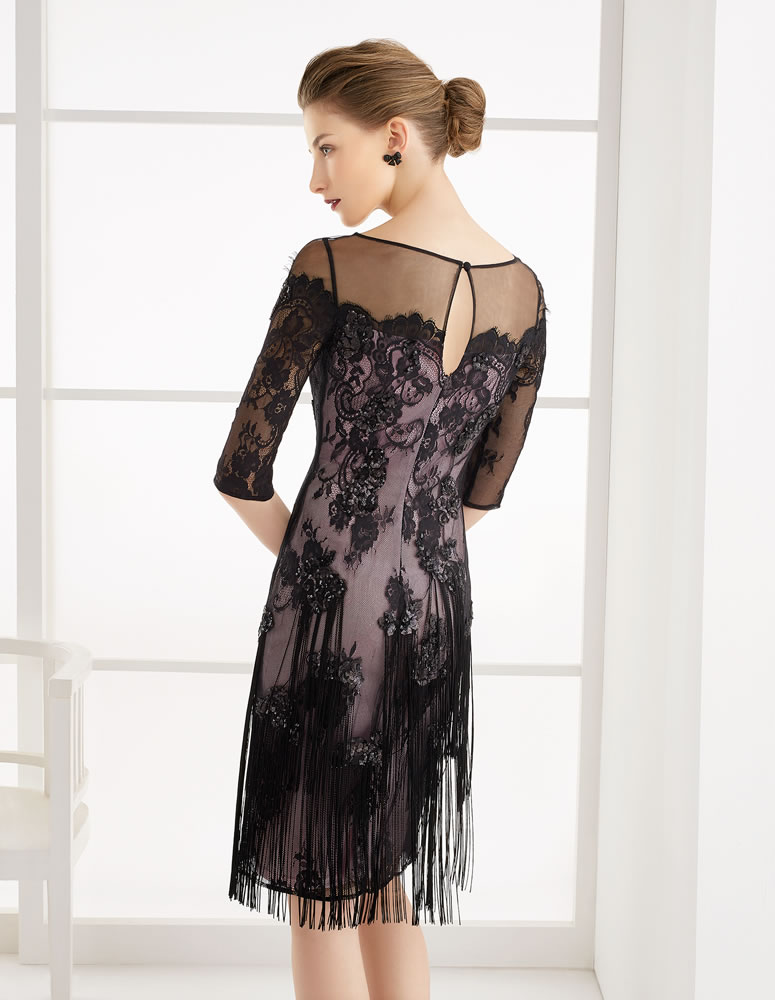 9G295 Vestido de Fiesta Couture Club