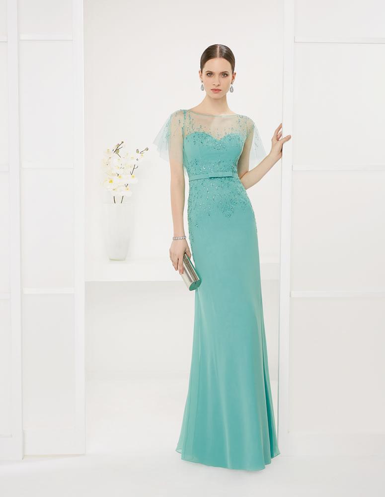 9G2D4 Vestido de Fiesta Couture Club