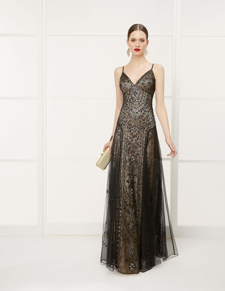 9G2D8 Vestido de Fiesta Couture Club