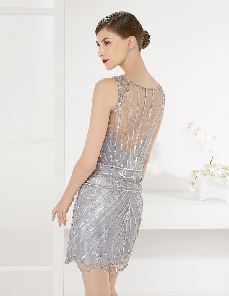 9G300 Vestido de Fiesta Couture Club
