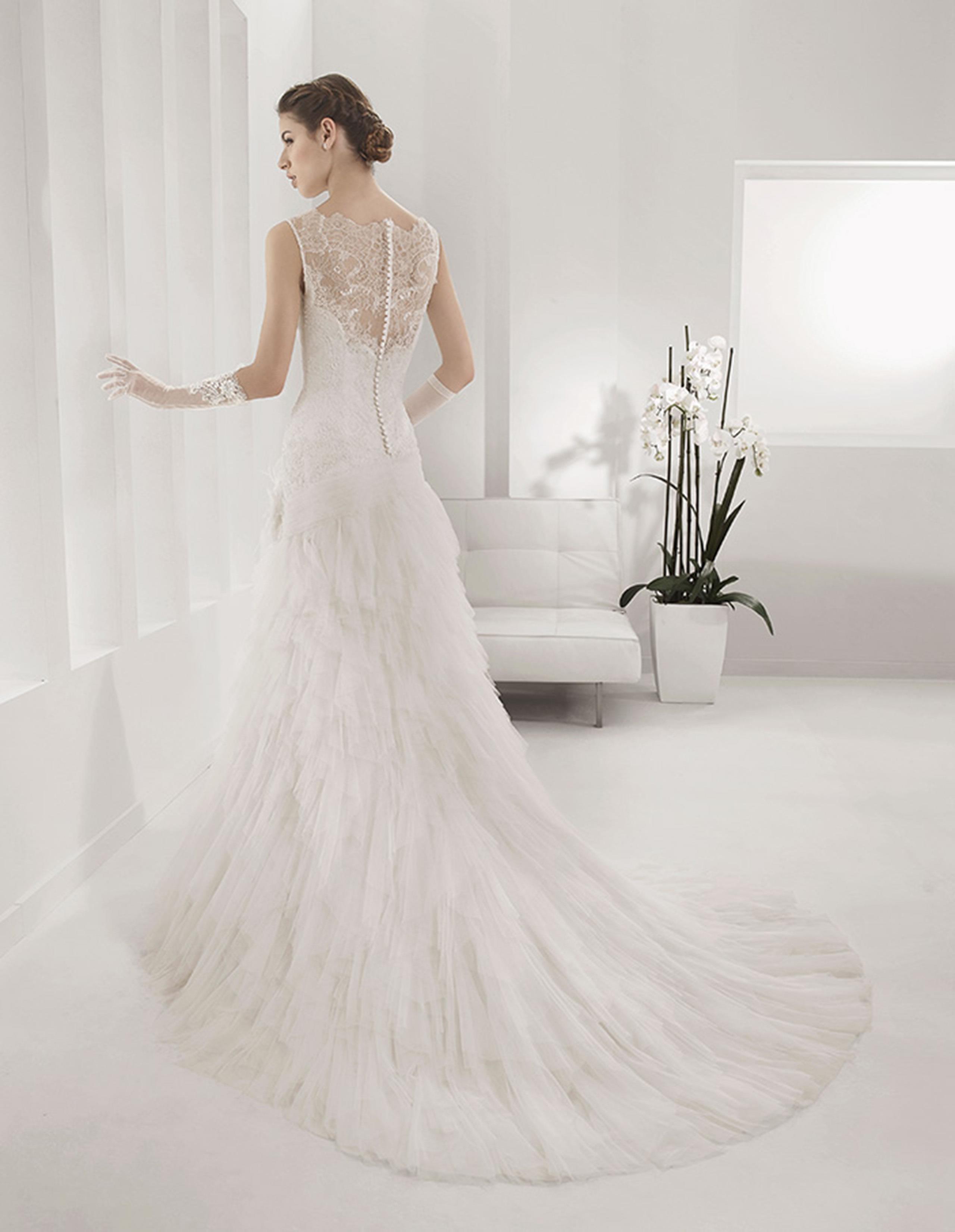 PAMELA Vestido de Alma Novia 2015
