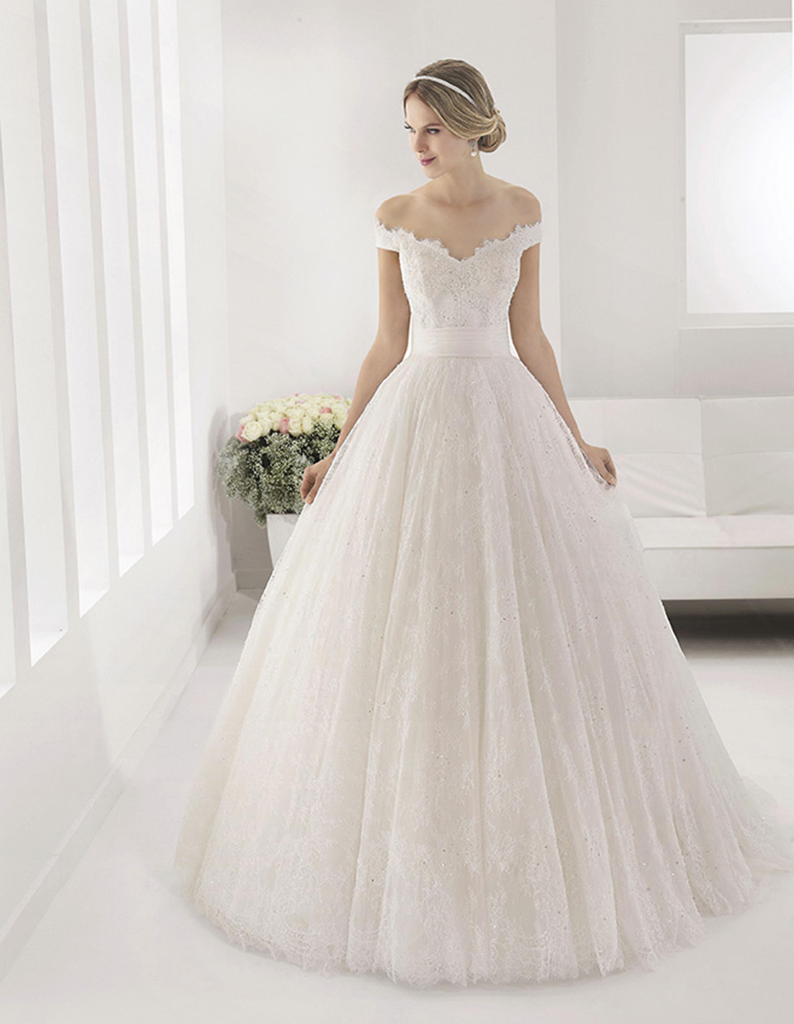PASTEL Vestido de Alma Novia 2015