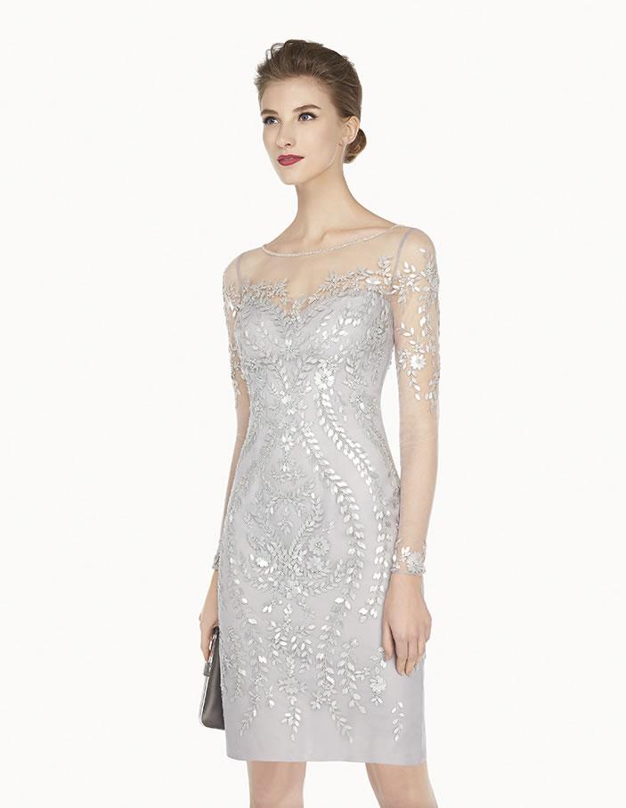 8G203 vestido de fiesta Couture Club 2015