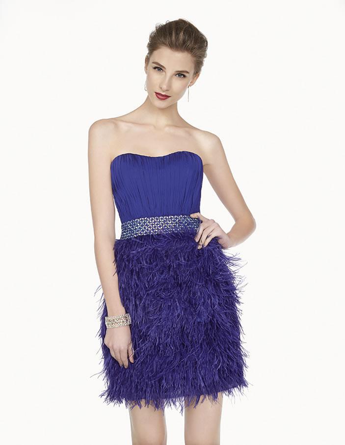 8G221 vestido de fiesta Couture Club 2015