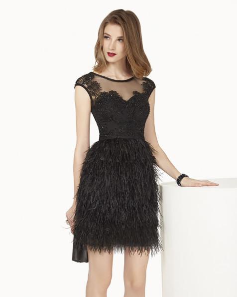 8G223 vestido de fiesta Couture Club 2015