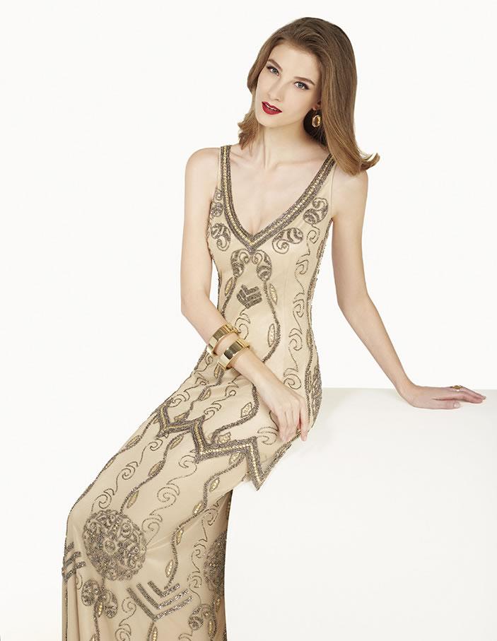 8G233 vestido de fiesta Couture Club 2015