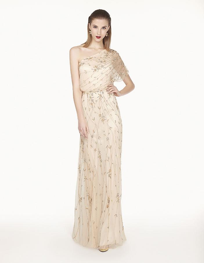 8G241 vestido de fiesta Couture Club 2015