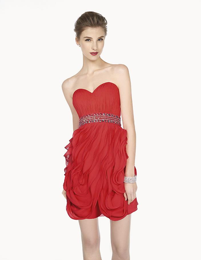 8G247 vestido de fiesta Couture Club 2015