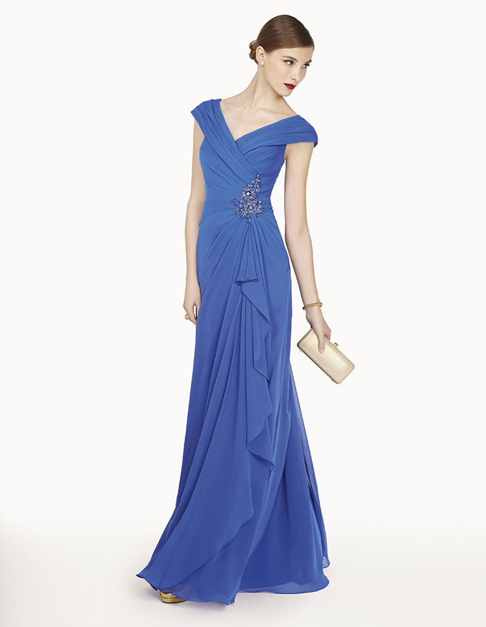 8G260 vestido de fiesta Couture Club 2015