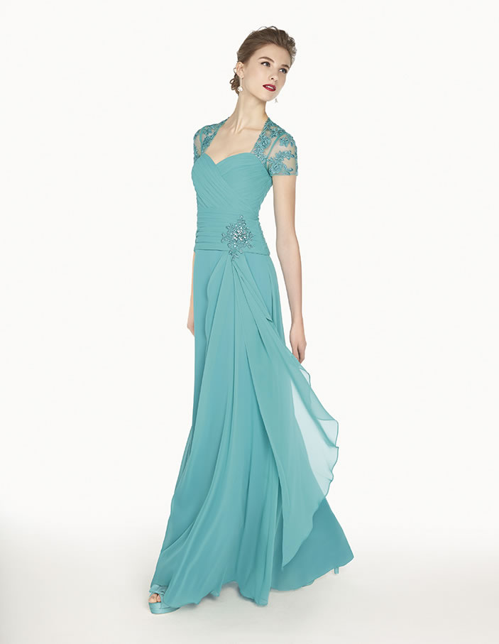 8G264 vestido de fiesta Couture Club 2015