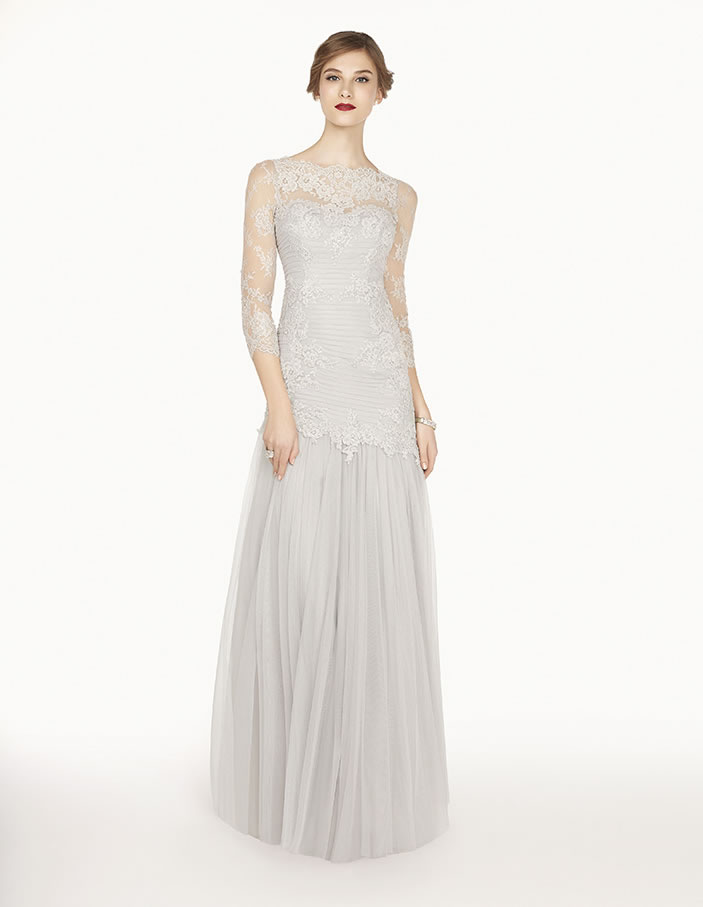 8G272 vestido de fiesta Couture Club 2015