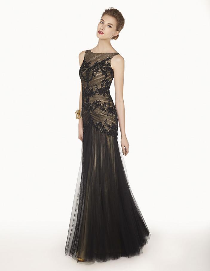 8G273 vestido de fiesta Couture Club 2015