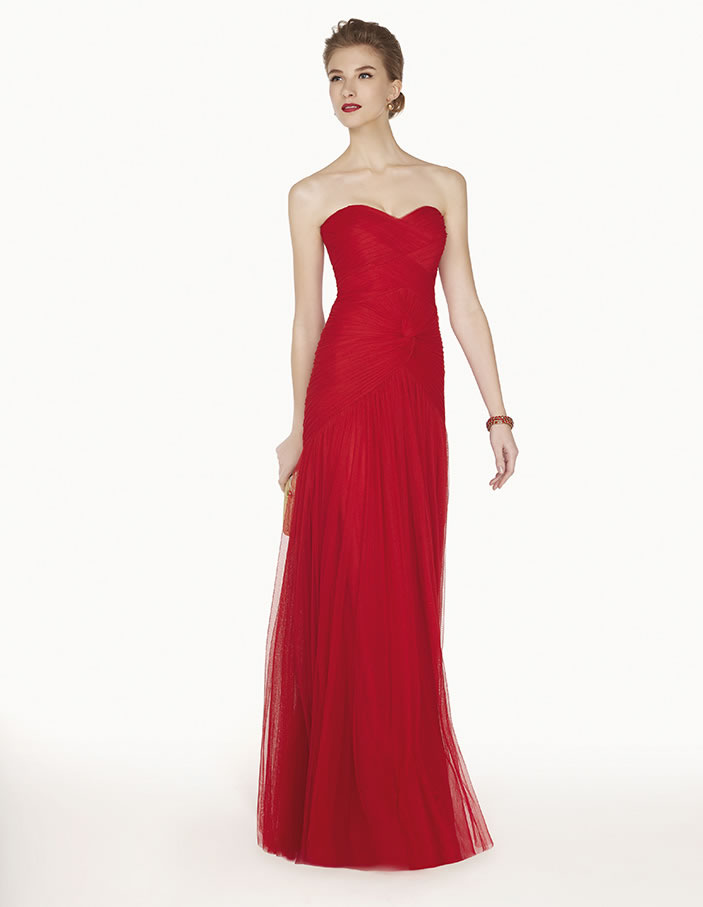 8G275 vestido de fiesta Couture Club 2015