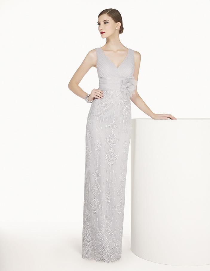 8G284 vestido de fiesta Couture Club 2015