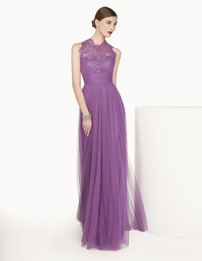 8G288 vestido de fiesta Couture Club 2015