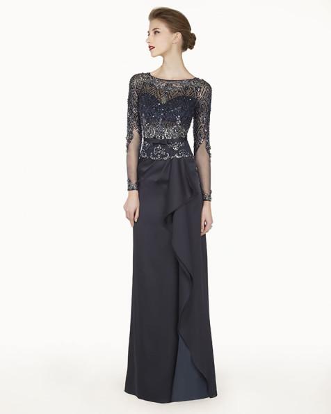 8G2A1 vestido de fiesta Couture Club 2015