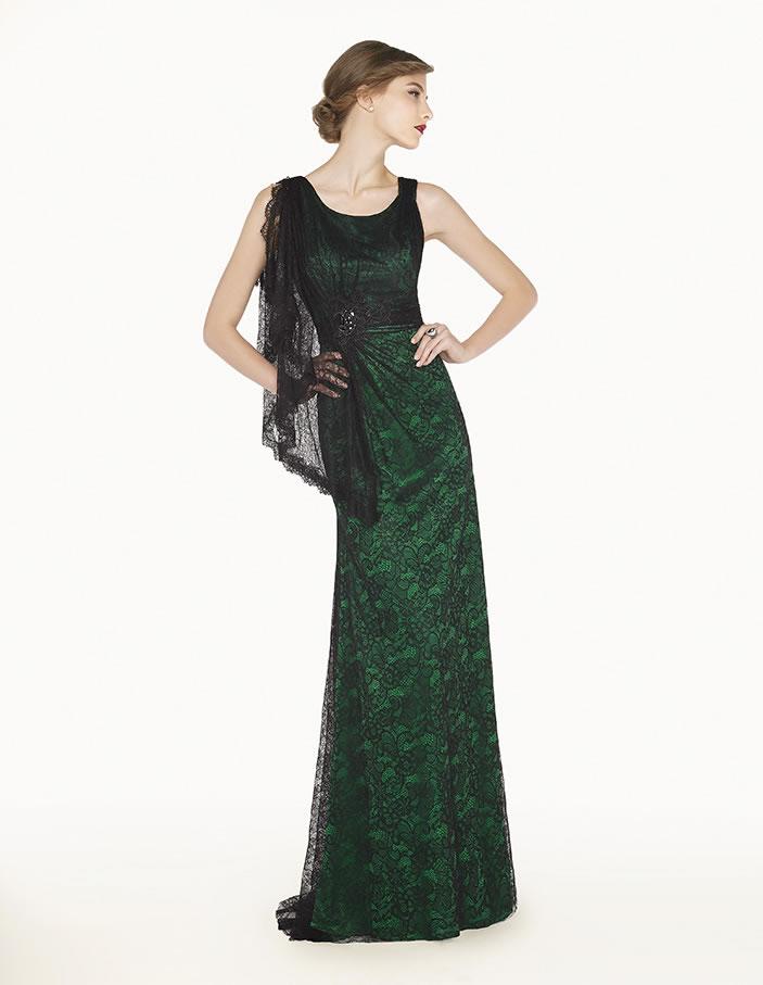 8G2A6 vestido de fiesta Couture Club 2015