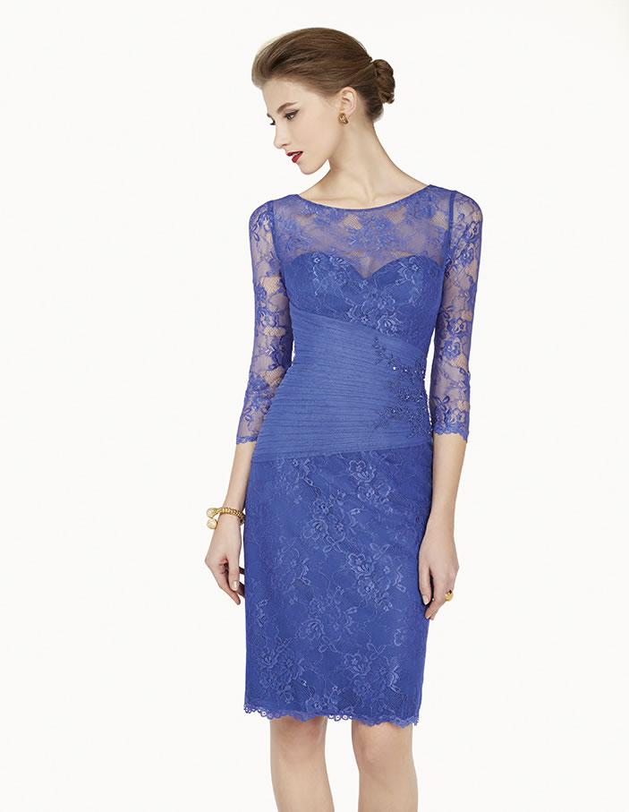 8G2B1 vestido de fiesta Couture Club 2015