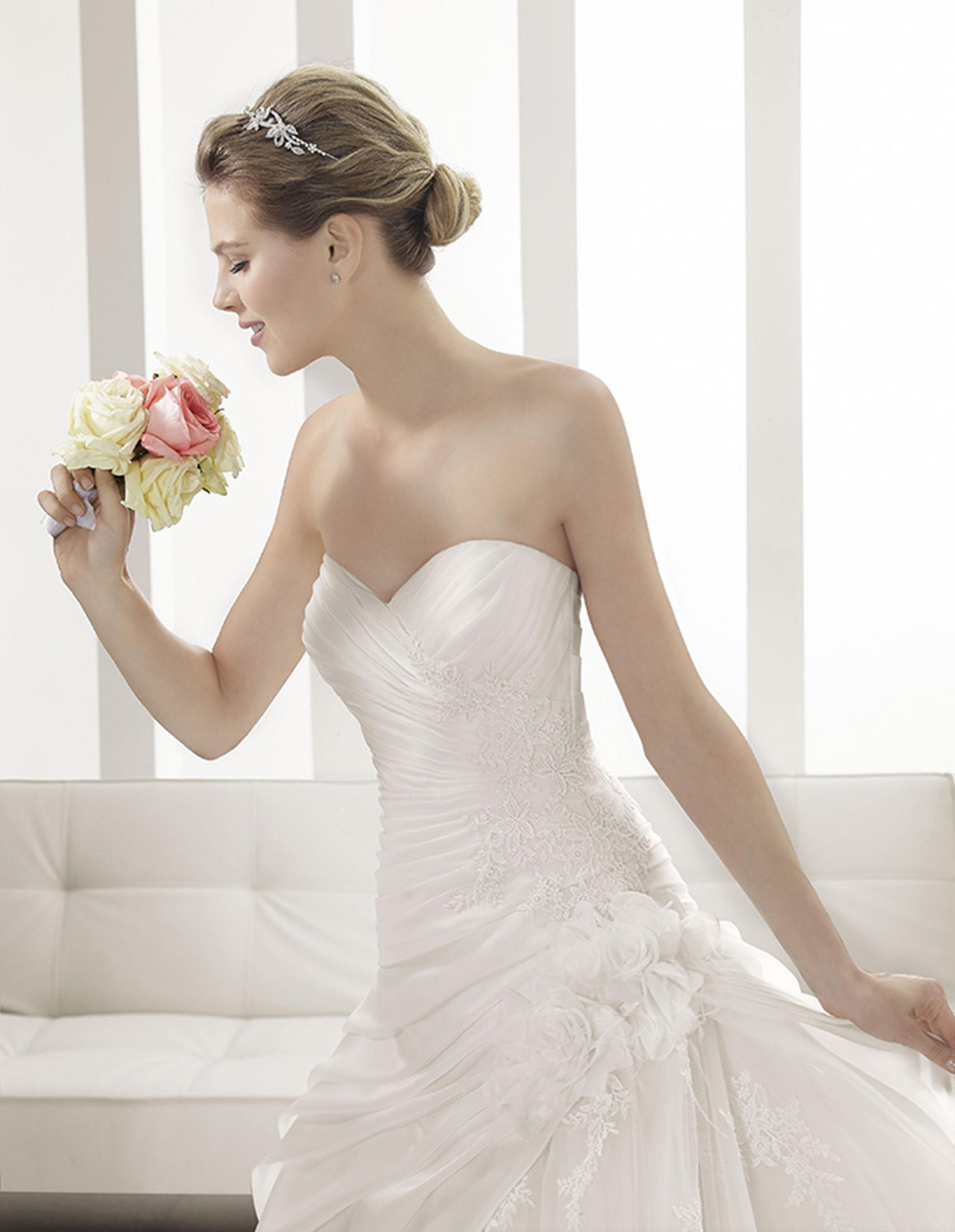 PRISCILA Vestido de Alma Novia 2015