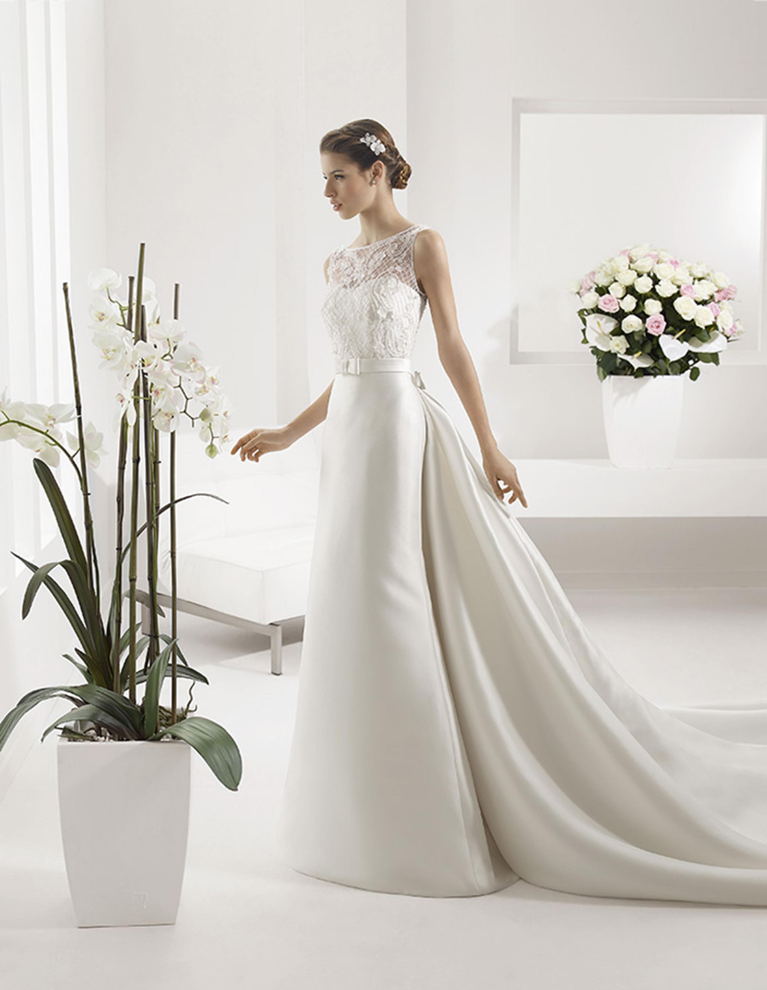PLATON Vestido de Alma Novia 2015