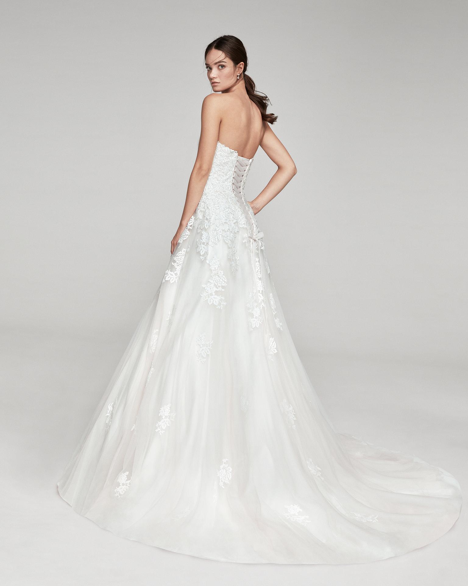 Taupe Bridal 2019 Alma Novia Collection